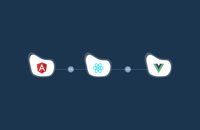 Comparison between Angular, react and vue