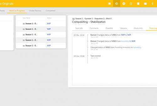 Task Detail - Time log