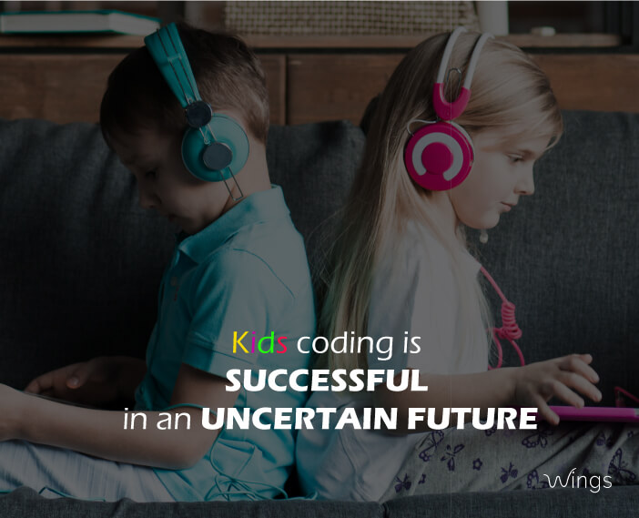 Kids Coding is successful in an Uncertain Future